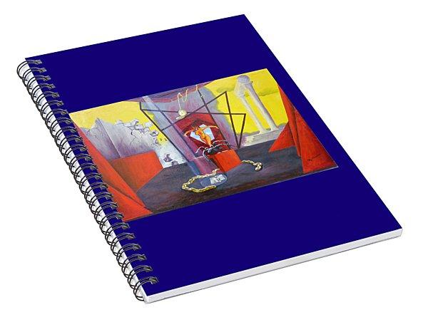 Beginning To End Spiral Notebook