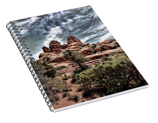 Bell Rock Vortex Spiral Notebook