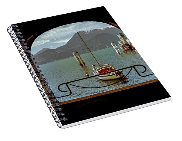 Bella Varenna - For Print Or Wrapped Canvas Spiral Notebook
