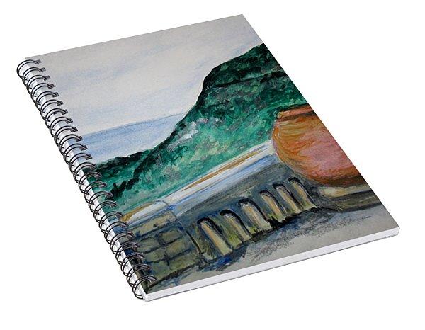 Bella Vista, Cumae Italy Spiral Notebook