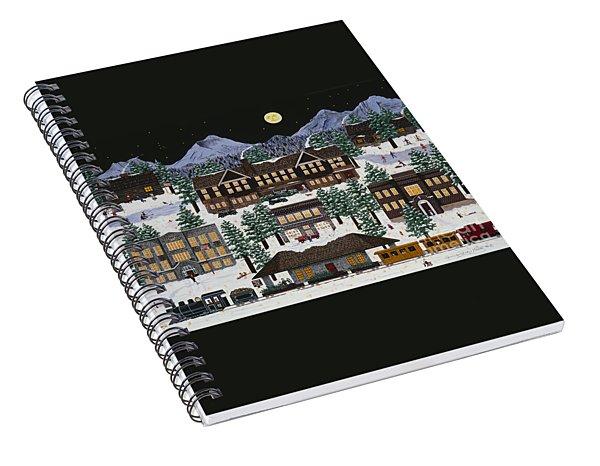 Bend @ Night Spiral Notebook