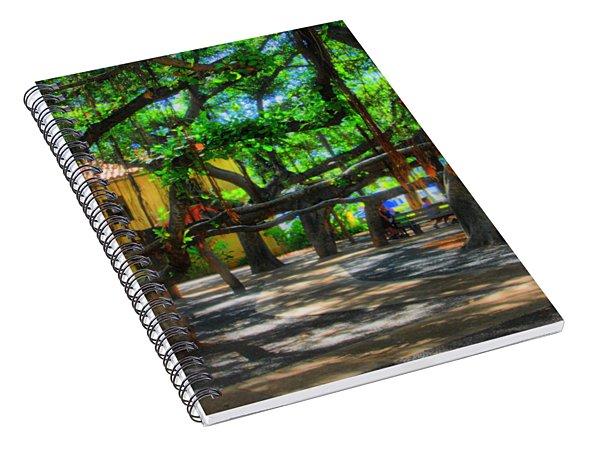 Beneath The Banyan Tree Spiral Notebook
