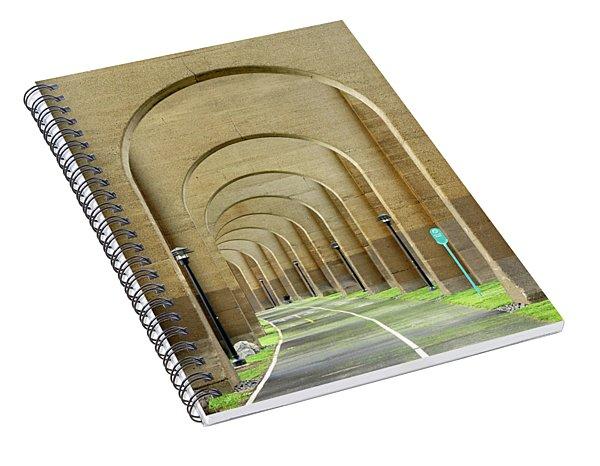 Beneath The Hellgate Spiral Notebook