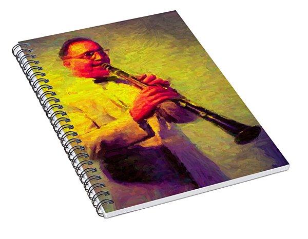 Benny Goodman Spiral Notebook