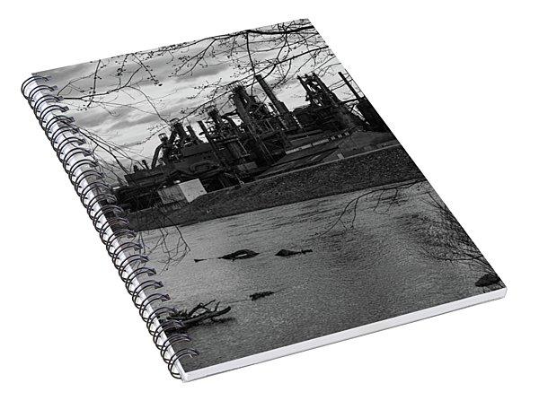 Bethlehem Steel Bw Spiral Notebook