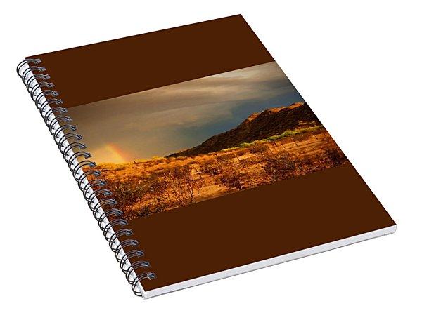 Beyond The Rainbow Spiral Notebook