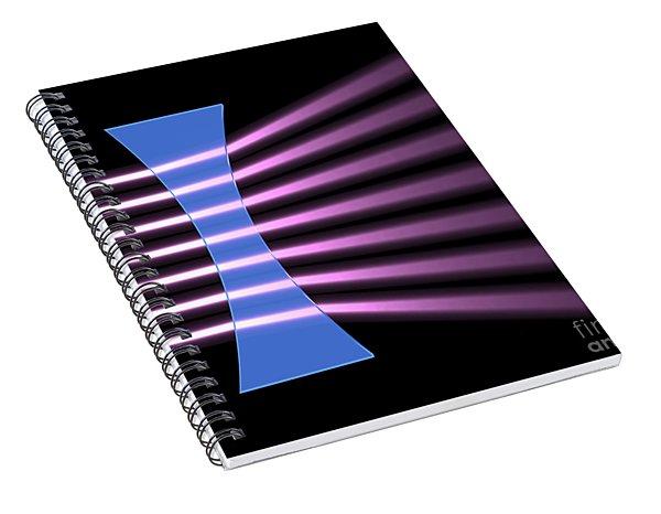 Biconcave Lens 2 Spiral Notebook