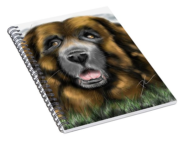 Big Dog Spiral Notebook