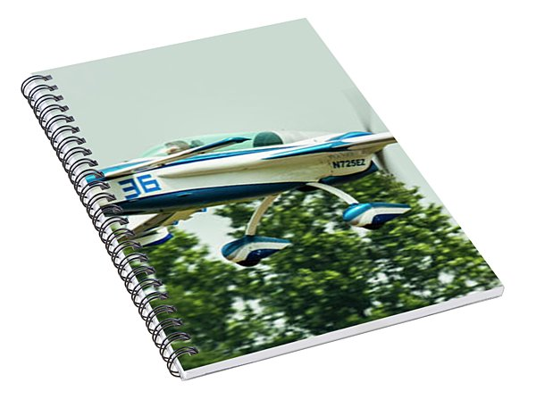 Big Muddy Air Race Number 36 Spiral Notebook