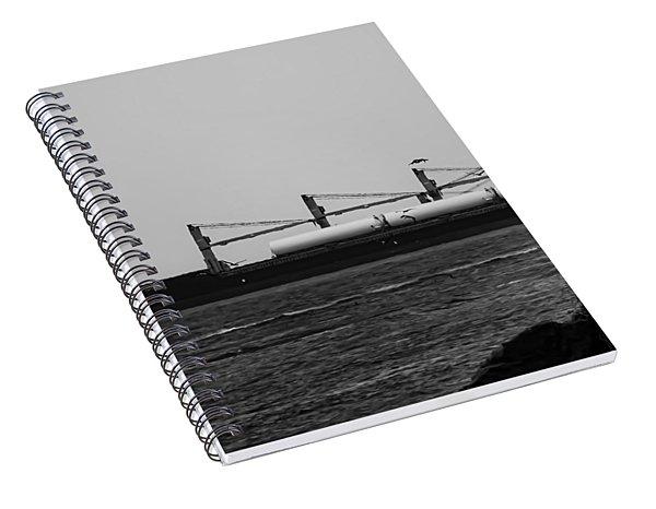 Big Ship Spiral Notebook