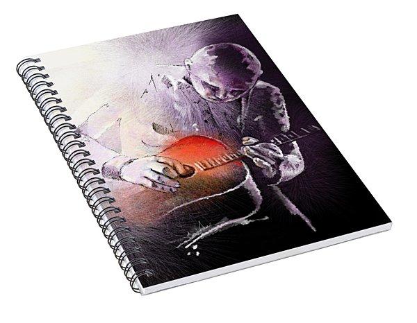 Billy Corgan Spiral Notebook
