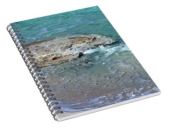 Bimini After Wave Spiral Notebook
