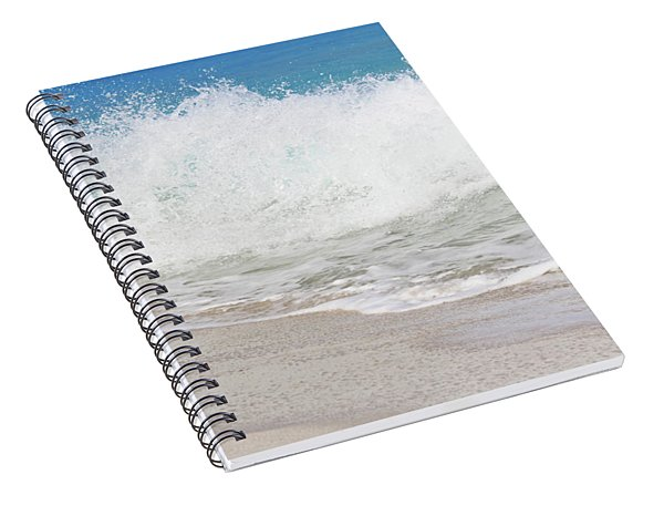 Bimini Wave Sequence 2 Spiral Notebook