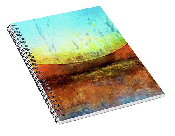 Birch Bark Canoe Spiral Notebook
