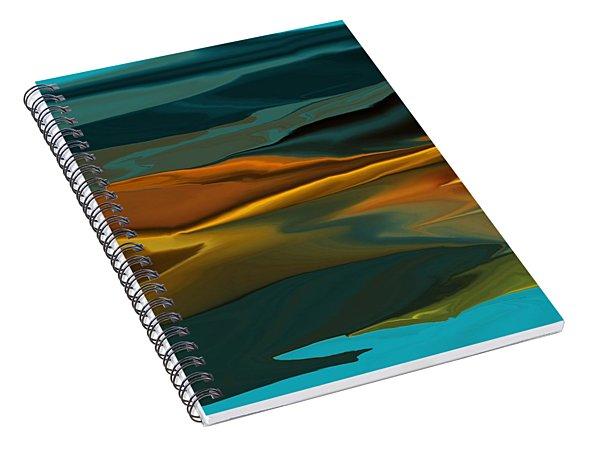 Black Hills Abstract Spiral Notebook