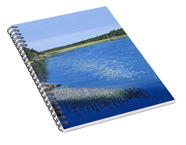 Blackstone Bog Spiral Notebook