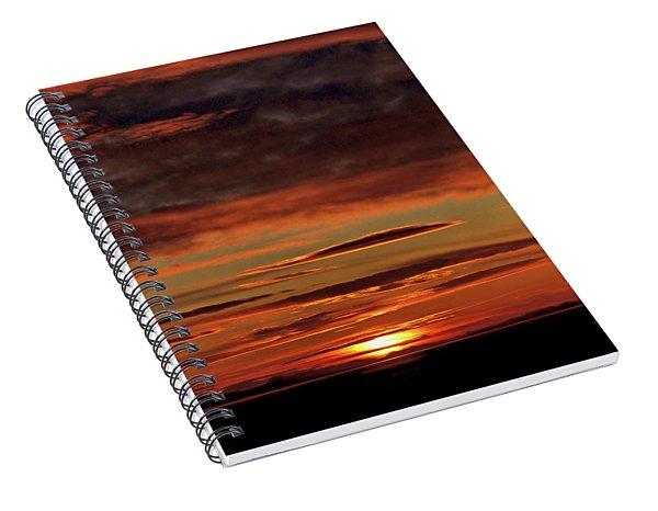 Blazing Sunset Spiral Notebook