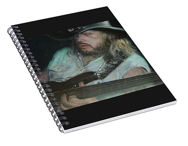 Blues Traveler Spiral Notebook