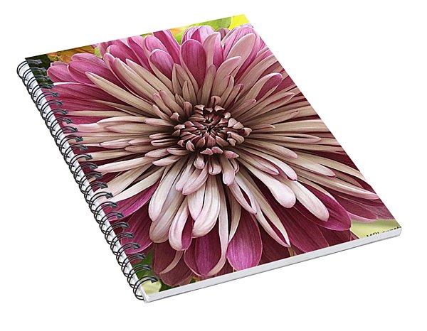 Bloom Of Pink Spiral Notebook