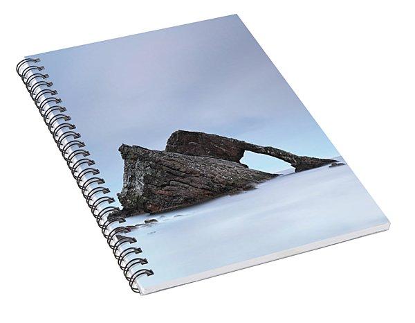 Blue Fiddle Spiral Notebook