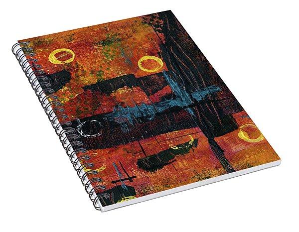 Blue Relic Spiral Notebook