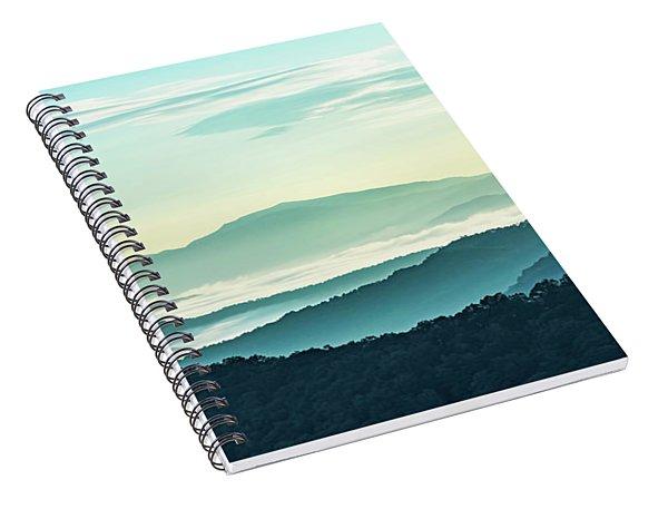 Blue Ridge Pastel Spiral Notebook