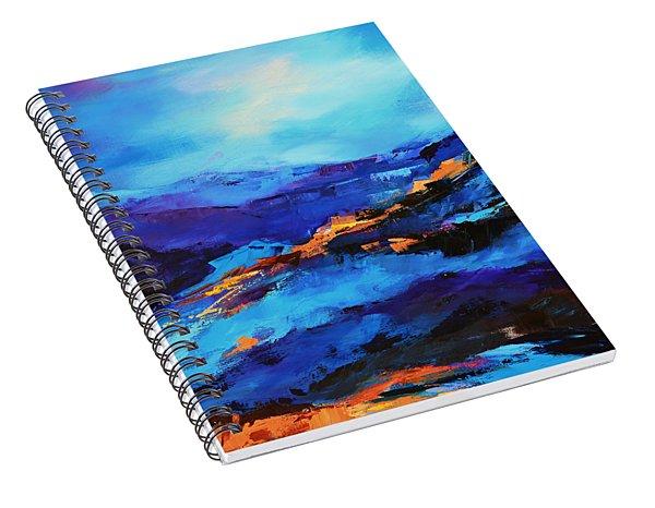 Blue Shades Spiral Notebook