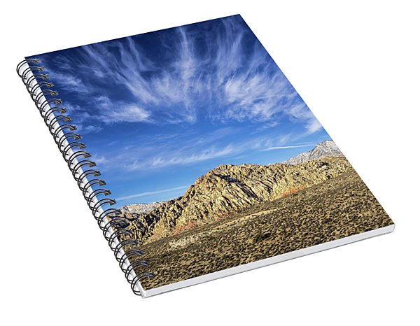Blue Sky Nevada Spiral Notebook