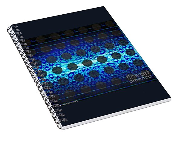 Blue Star Spiral Notebook