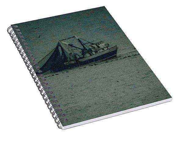 Blue Trawler 3 Spiral Notebook