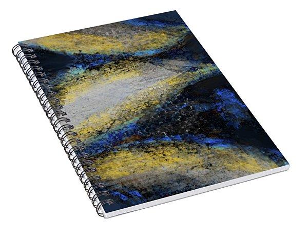 Blue Whales Spiral Notebook