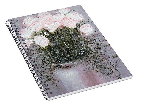 Blush - Original Artwork Spiral Notebook