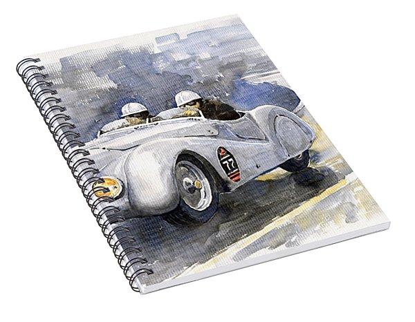 Bmw 328 Roadster Spiral Notebook