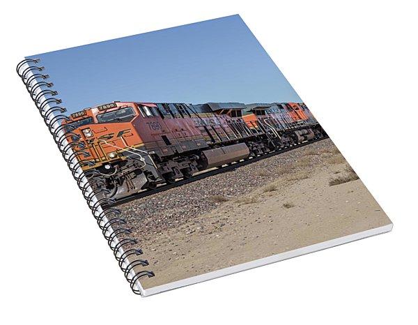 Bnsf7890 Spiral Notebook