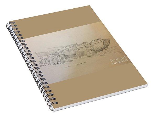 Boat Crew Spiral Notebook