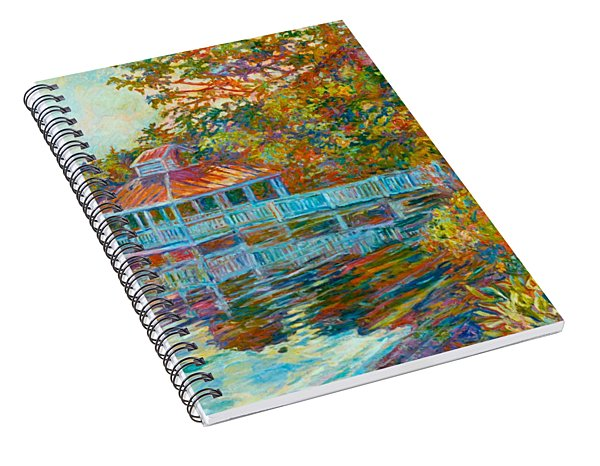Boathouse At Mountain Lake Spiral Notebook
