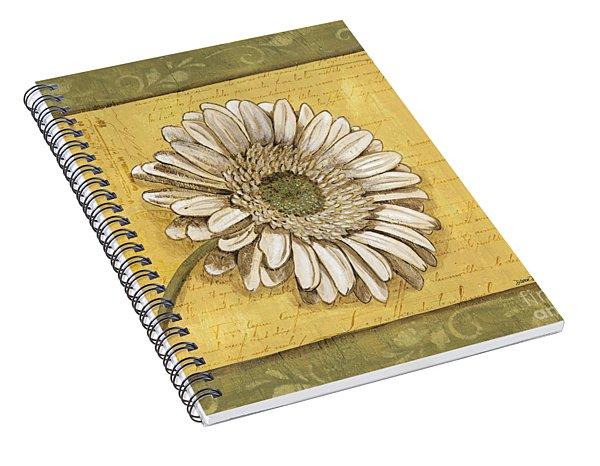 Bohemian Daisy 1 Spiral Notebook