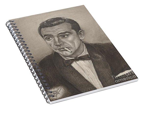 Bond From Dr. No Spiral Notebook
