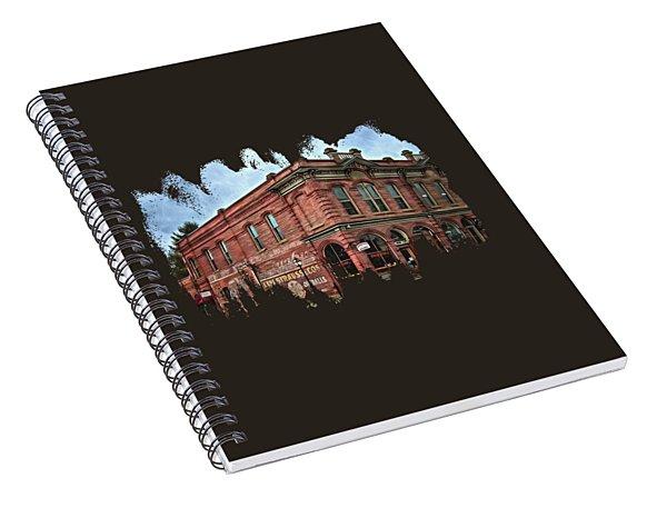 Boomtown Saloon Jacksonville Oregon Usa Spiral Notebook