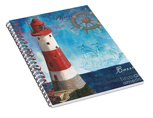 Bord De Mer Spiral Notebook