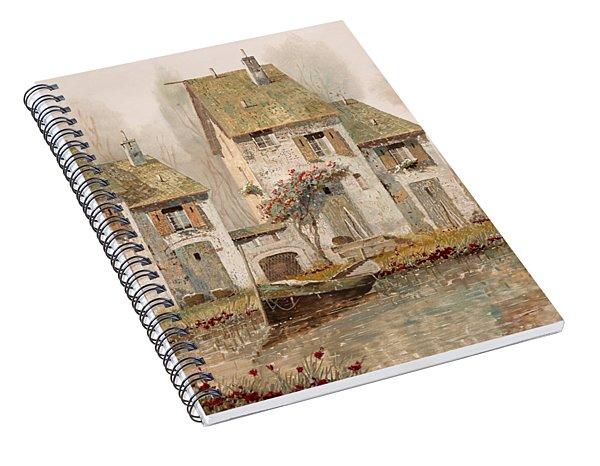 Borgo Nebbioso Spiral Notebook