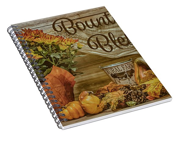 Bountiful Blessings Spiral Notebook