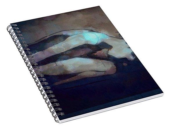 Bowed Down Spiral Notebook