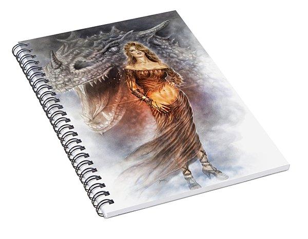 Bracelet Of Power Spiral Notebook