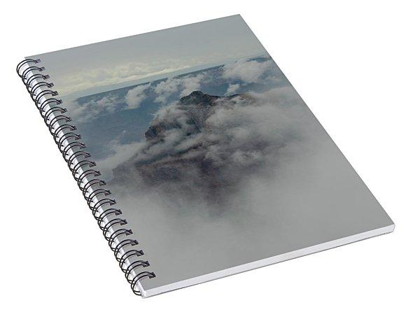 Brahma Temple In A Sea Of Clouds Spiral Notebook