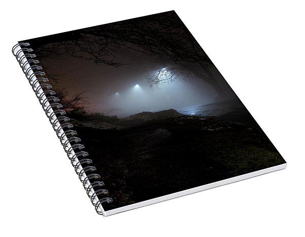 Brattleboro Fog Spiral Notebook