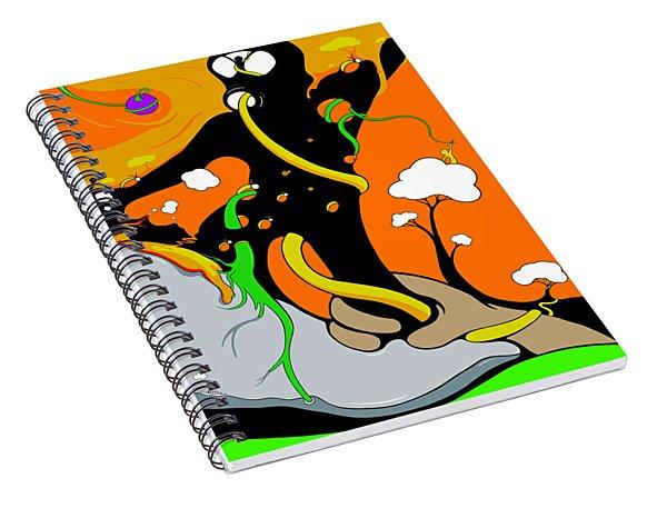 Breaking Self Spiral Notebook
