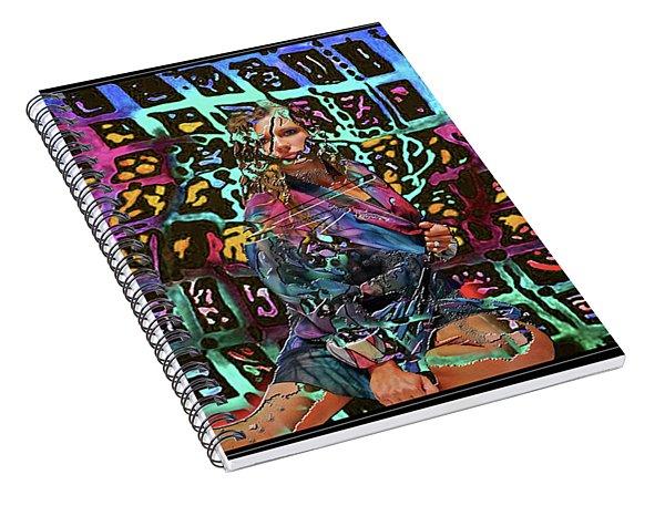 Breakout Spiral Notebook