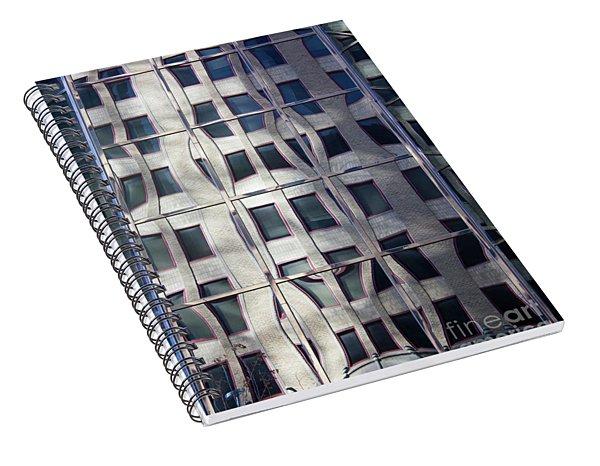 Brick Reflections Spiral Notebook