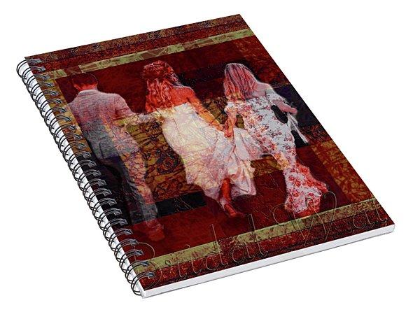 Bridal Walk Spiral Notebook
